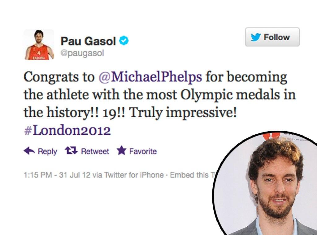 Olympic Tweets, Pau Gasol
