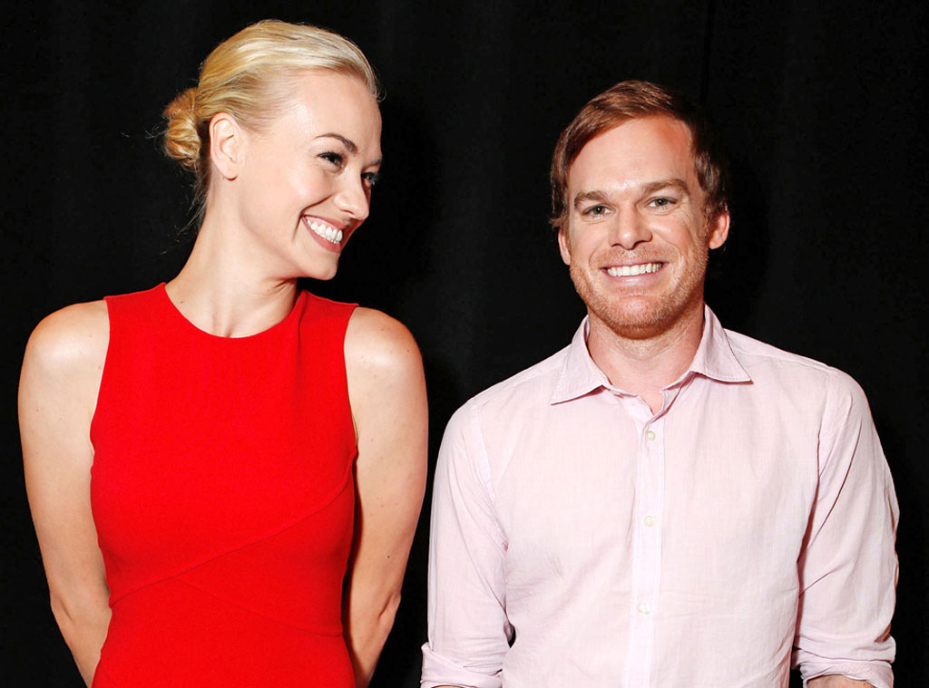 TCA Press Tour, Yvonne Strahovsky, Michael C. Hall