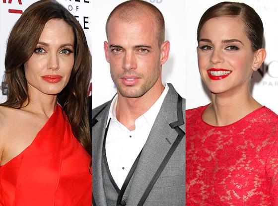 Angelina Jolie, William Levy, Emme Watson