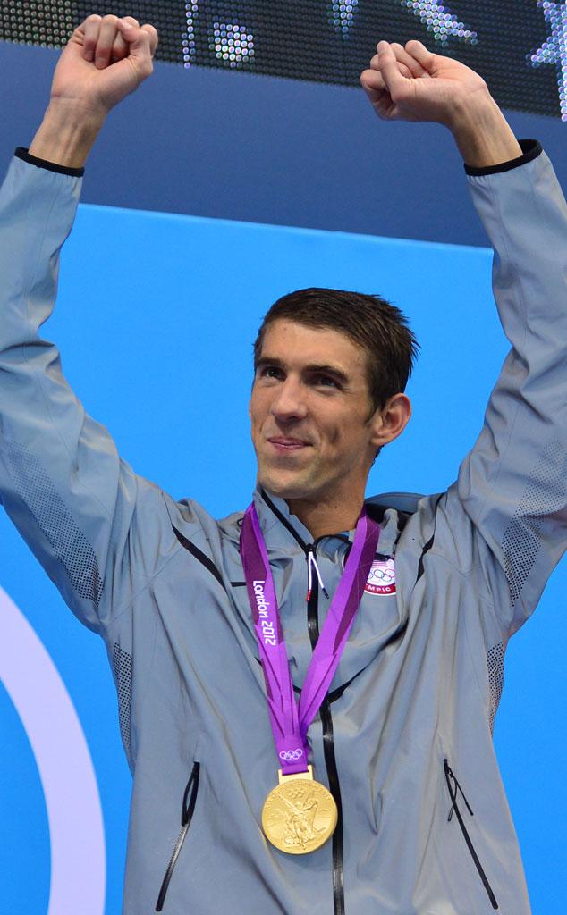 Michael Phelps, London Olympics 2012, 4 x 200