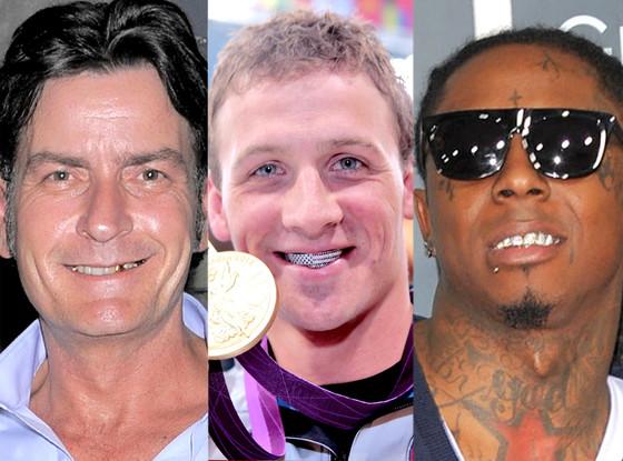 Charlie Sheen, Lil Wayne, Ryan Lochte