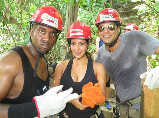 Kanye West, Kim Kardashian, Joe Francis