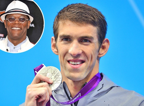 Michael Phelps, Samuel L. Jackson