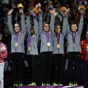 U.S. Women's Gymnastic Team, Aly Raisman, Gabby Douglas, Jordyn Wieber, McKayla Maroney, Kyla Ross