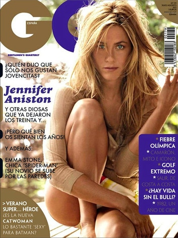 Jennifer Aniston, GQ Spain