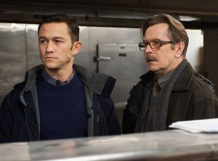 Joseph Gordon Levitt, Gary Oldman, The Dark Knight Rises