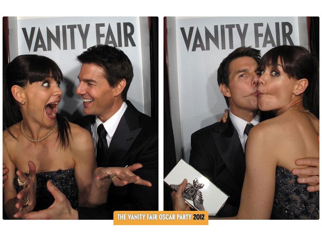 Tom Cruise, Katie Holmes, Vanity Fair