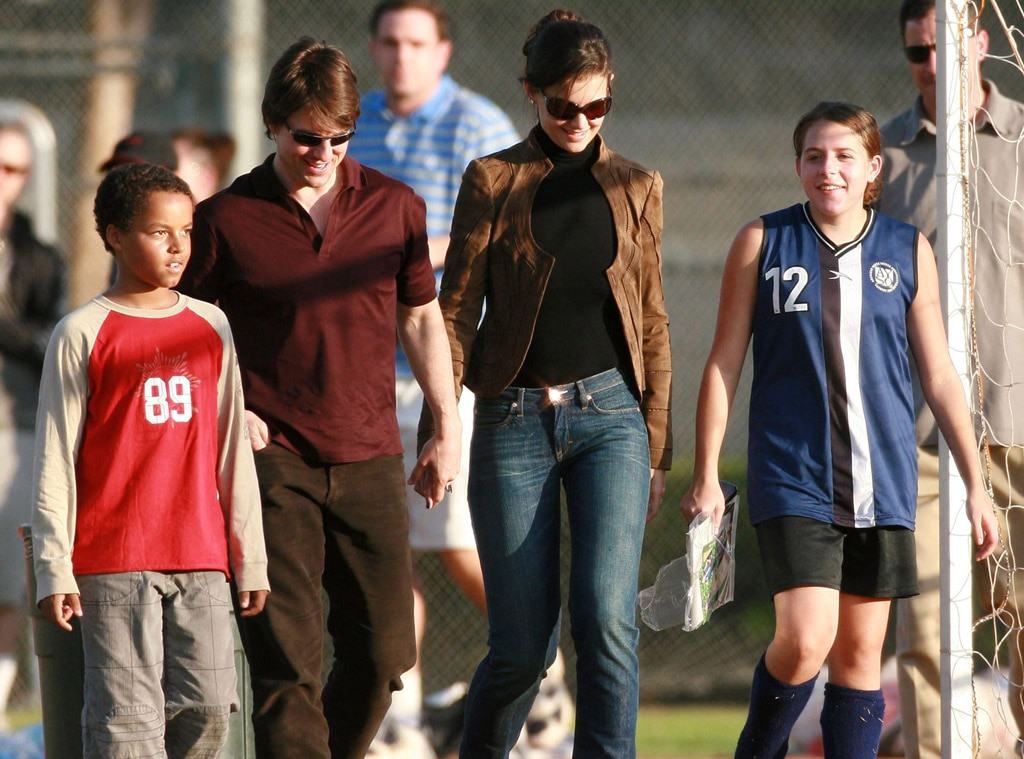 Connor Cruise, Tom Cruise, Katie Holmes, Isabella Cruise