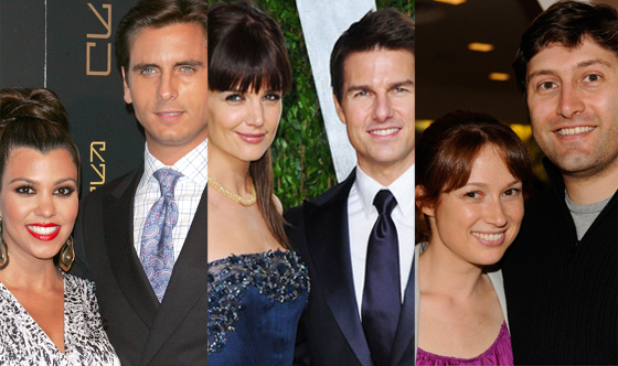 Tom Cruise, Katie Holmes, Kourtney Kardashian, Scott Disick, Ellie Kemper
