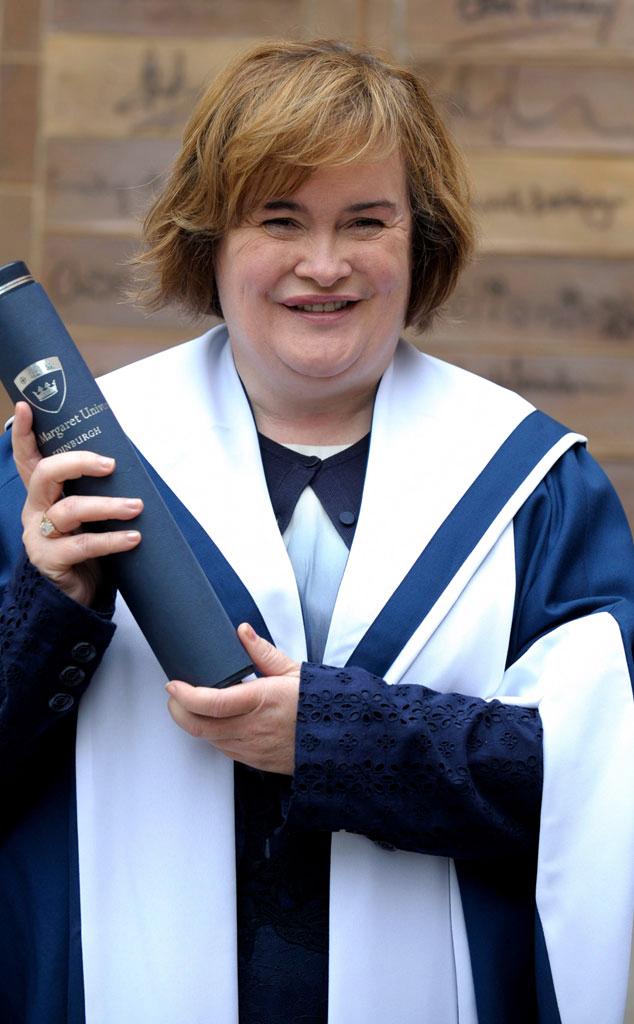 Susan Boyle, Honorary Degree