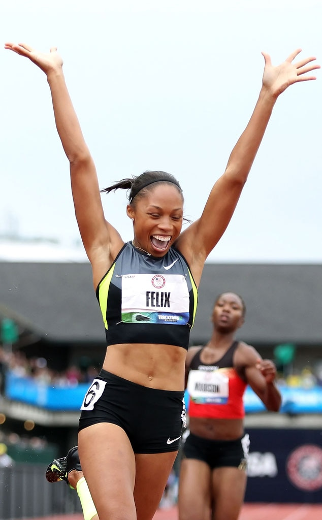 Olympics, Olympians to Watch, Allyson Felix