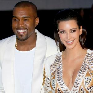Front Door, Kim Kardashian, Kanye West