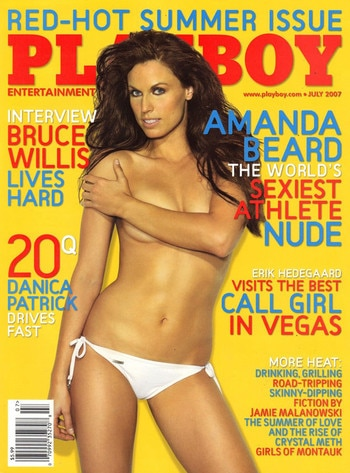 Amanda Beard Playboy Cover