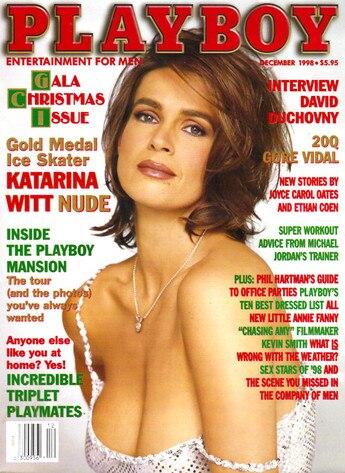 Katarina Witt Playboy Cover