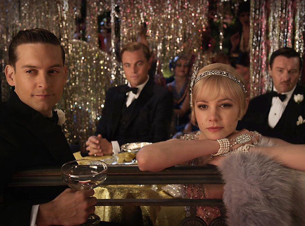 The Great Gatsby, Tobey Maguire, Leonardo DiCaprio, Carey Mulligan