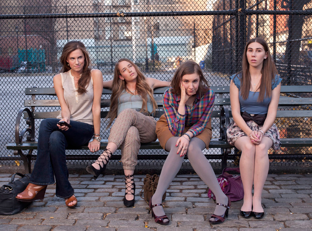 Allison Williams, Jemima Kirke, Lena Dunham, Zosia Mamet, Girls