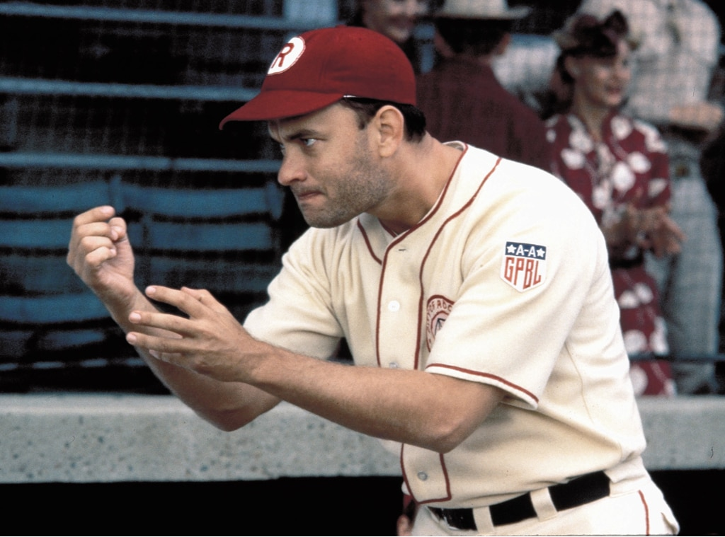 Tom Hanks, A League of Their Own