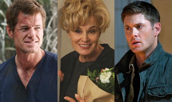 Jensen Ackles, Supernatural, Jessica Lange, American Horror Story, Eric Dane, Grey's Anatomy