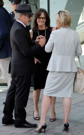 Steven Spielberg, Sally Field, Tina Brown