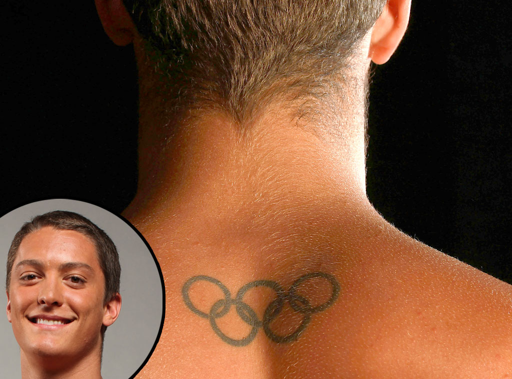 Olympic Rings Tattoos, Thomas Finchum