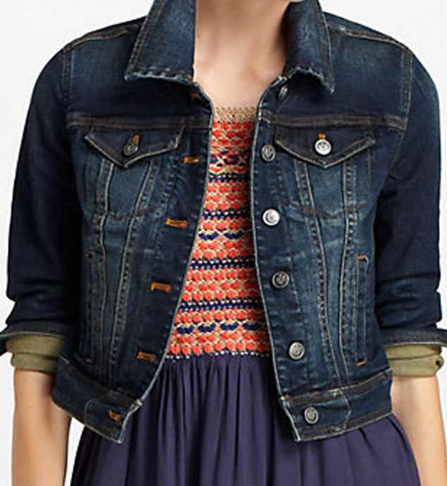 Fall Fashion Guide, Anthropologie Cropped jacket