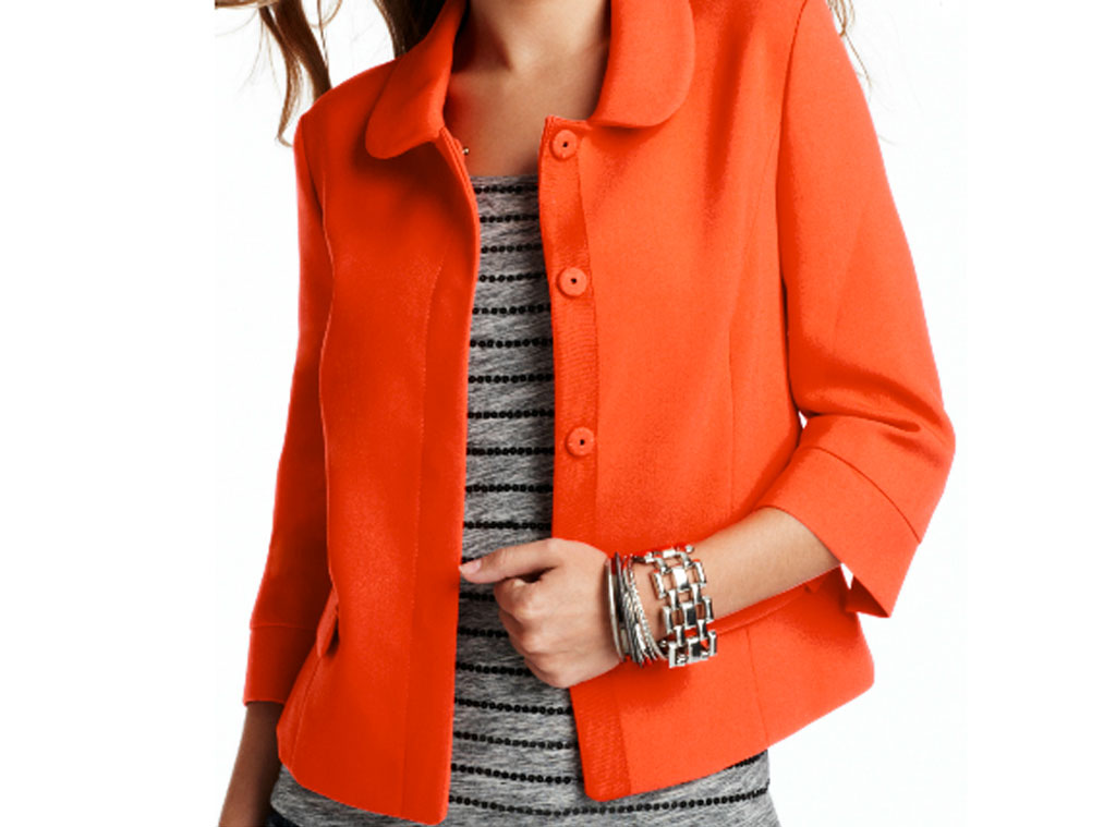 Fall Fashion Guide, The Loft Cropped jacket
