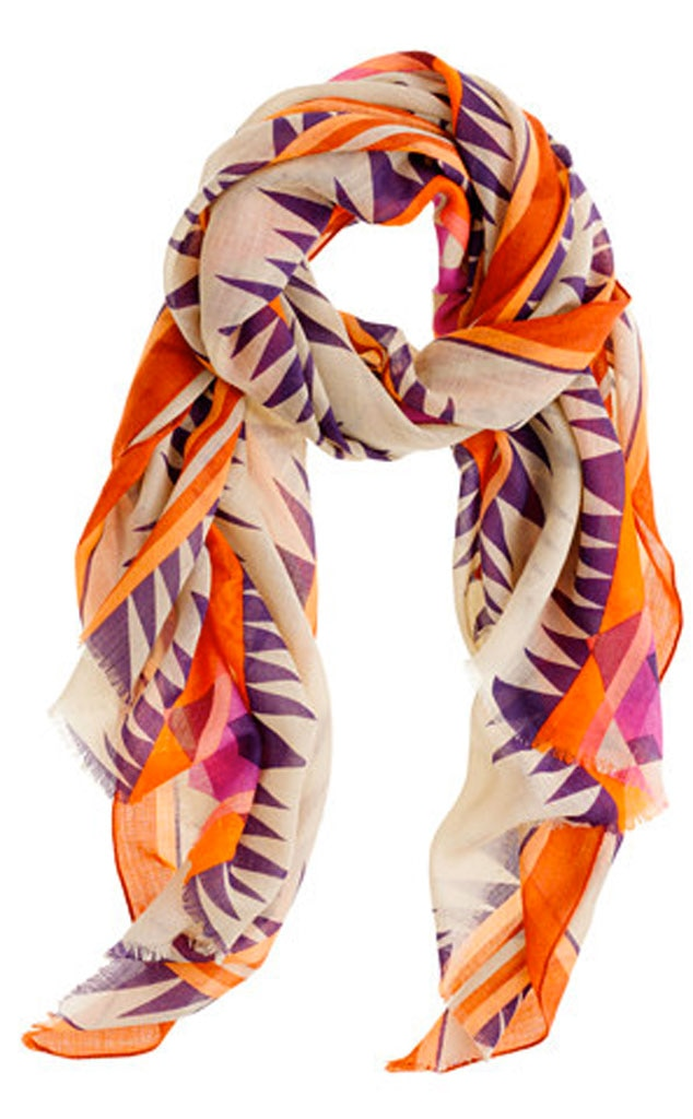 Fall Fashion Guide, J.Crew scarf