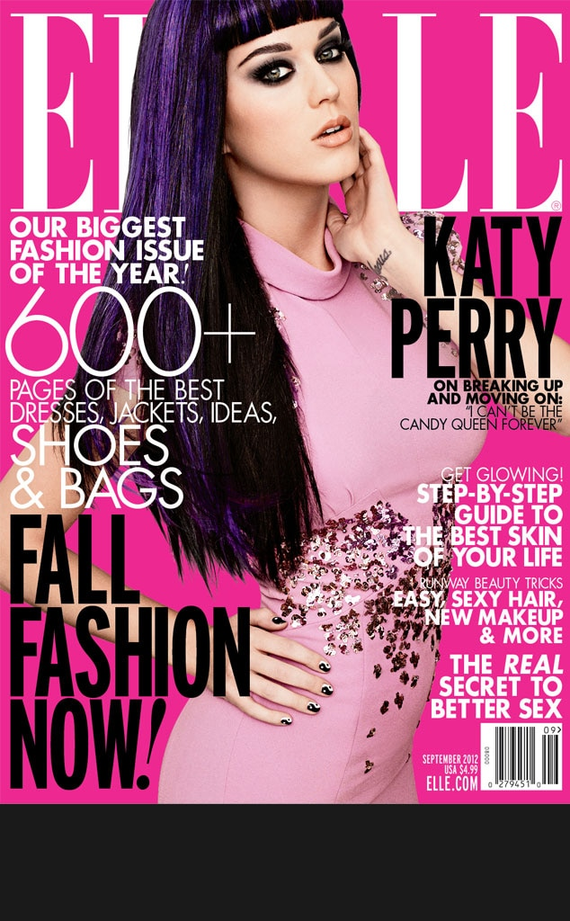 Black Bar for Galleries, do not use in blog, Katy Perry, Elle Magazine cover