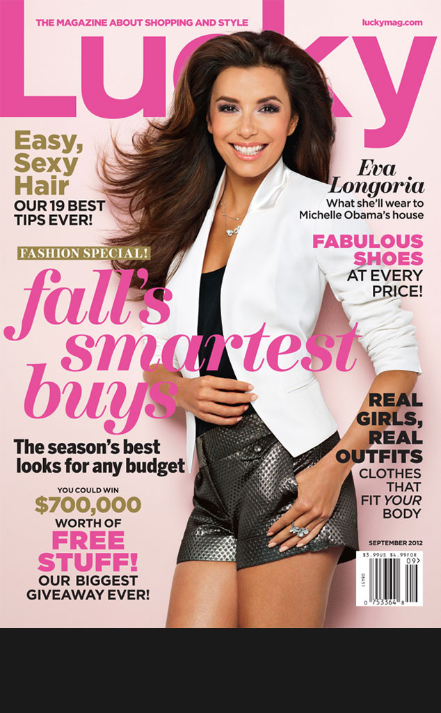 Black Bar for Galleries, do not use in blog, Eva Longoria, Lucky, September cover