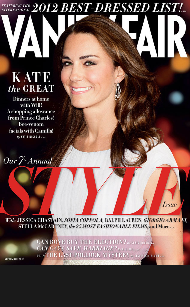 Black Bar for Galleries, do not use in blog, Duchess Catherine, Kate Middleton, Vanity Fair cover