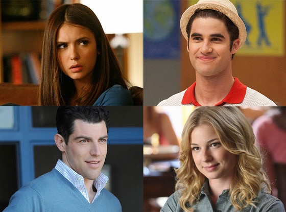 Emily Van Camp, Revenge, Max Greenfield, New Girl, Nina Dobrev, The Vampire Diaries, Darren Criss, Glee