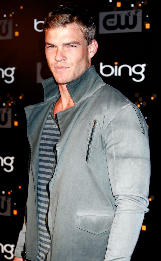 Alan Ritchson as Gloss from The Hunger Games: Catching ...