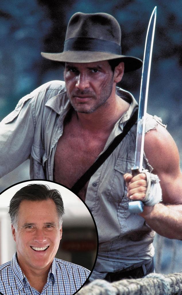 Indiana Jones, Harrison Ford, Mitt Romney