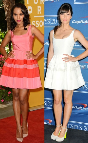 Kerry Washington, Jessica Biel
