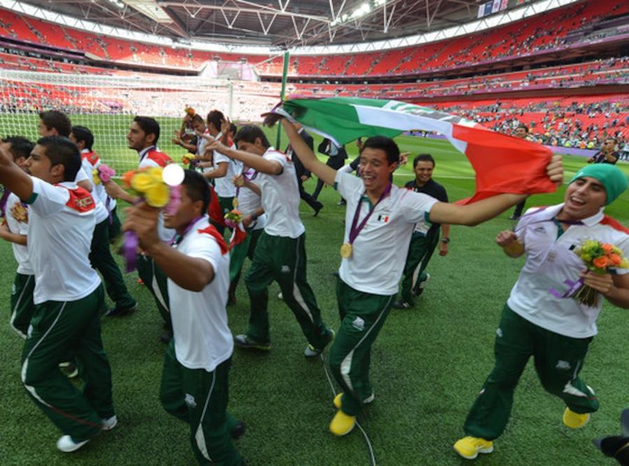 Mexico Soccer Team, 2012 Summer Olympics