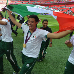 Mexico Soccer Team, 2012 Summer Olympics