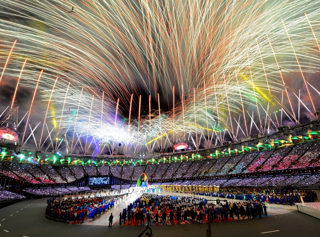 Closing Ceremony London 2012 Olympic Games Fireworks