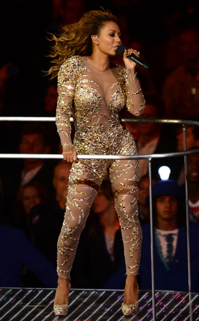 2012 London Olympic Games Closing Ceremony, Melanie Brown, Spice Girls