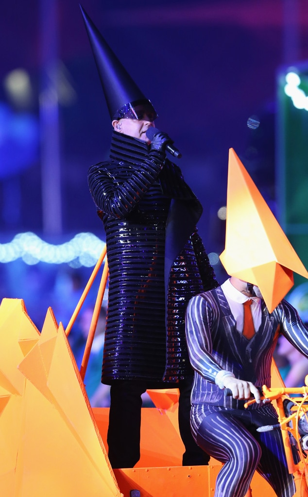 Closing Ceremony London 2012 Olympic Games, Neil Tennant of The Pet Shop Boys