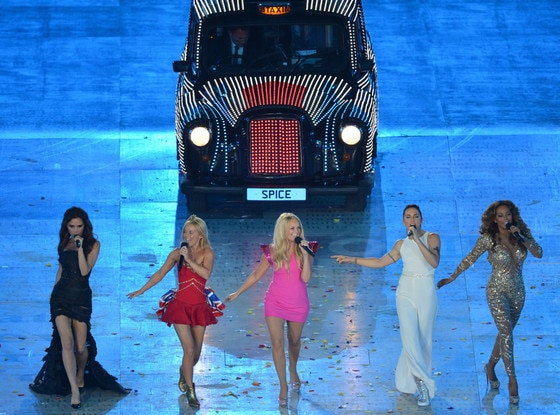 2012 London Olympic Games Closing Ceremony, Spice Girls