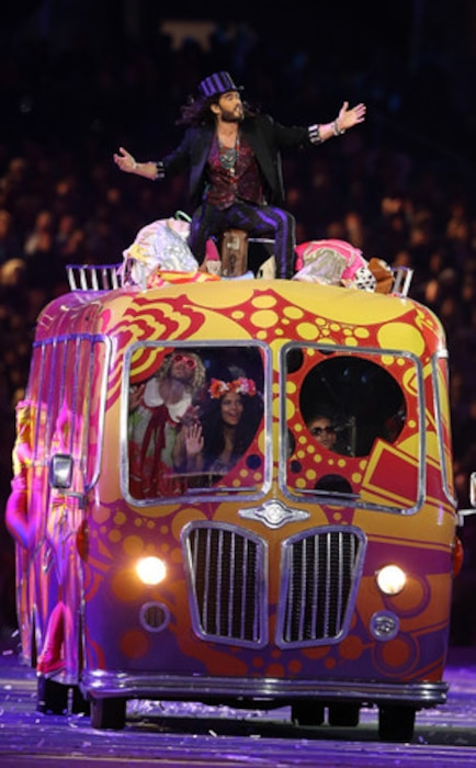 Closing Ceremony London 2012 Olympic Games, Russell Brand