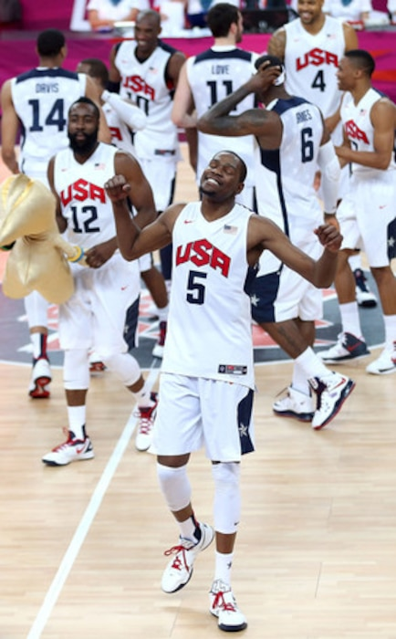 Kevin Durant, Basketball Team USA, 2012 Summer Olympics