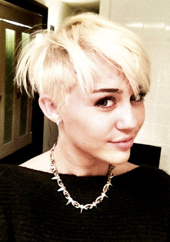 Remarkable From Miley Cyrus Loves Her New Hair Short Hairstyles For Black Women Fulllsitofus
