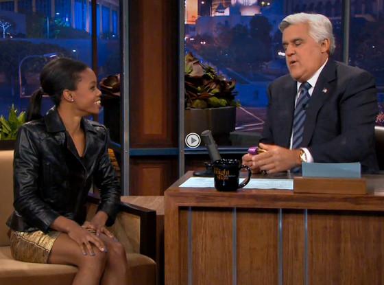 Gabby Douglas, Jay Leno, The Tonight Show