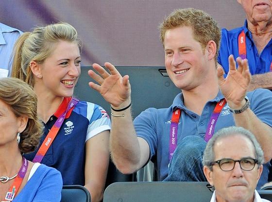 Prince Harry, Laura Trott