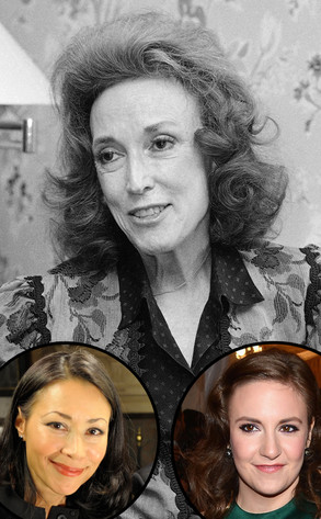 Helen Gurley Brown, Lena Dunham, Ann Curry