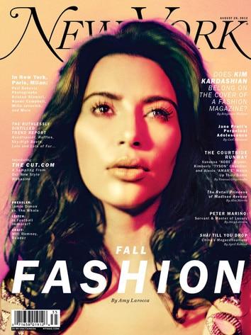 Kim Kardashian Covers New York Magazine's Fall Fashion ...