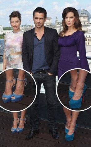 Jessica Biel, Colin Farrell, Kate Beckinsale