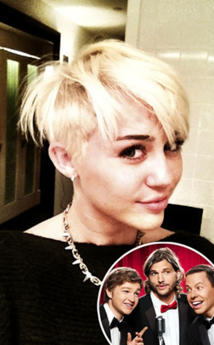 Miley Cyrus, Two Half Men