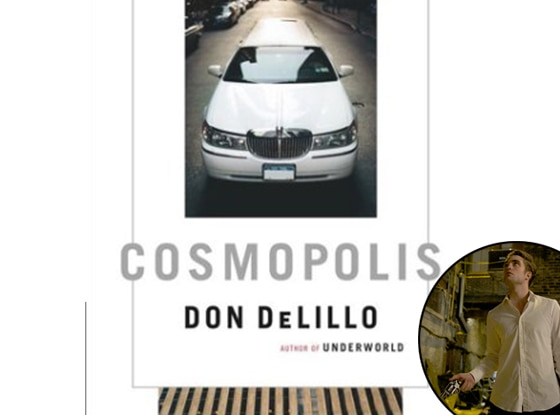 Robert Pattinson, Cosmopolis Book cover
